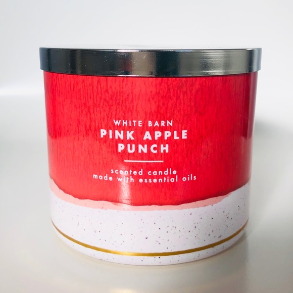 Bath and Body Works Pink Apple Punch Candle